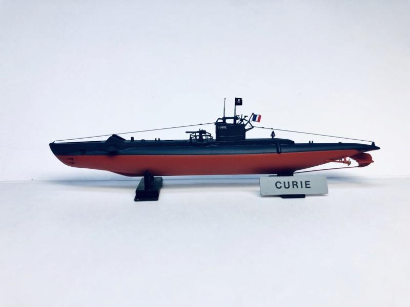 2 sous-marins FNFL le CURIE et la MORSE au 1/400 ème base Mirage + scratch Img_e824
