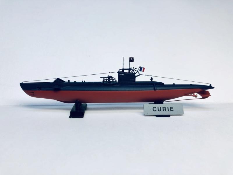 2 sous-marins FNFL le CURIE et le MORSE au 1/400 ème base Mirage + scratch  Img_e827