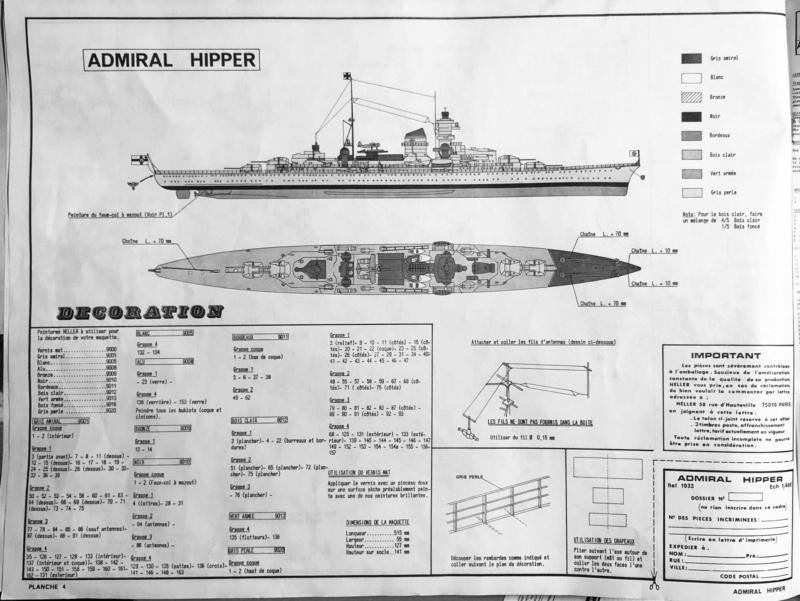 Croiseur lourd ADMIRAL HIPPER  boîte jaune Réf 1033 Img_e885
