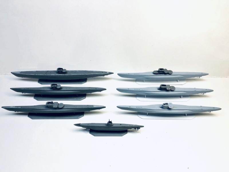 [HELLER - MIRAGE] Chantier naval / Flottille U-BOOT Réf 195, 81002, 81091 & 400203, 40411 Img_e905