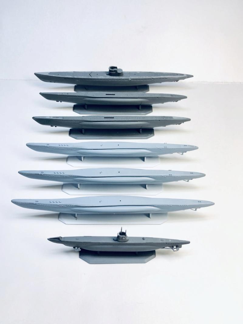 [HELLER - MIRAGE] Chantier naval / Flottille U-BOOT Réf 195, 81002, 81091 & 400203, 40411 Img_e906