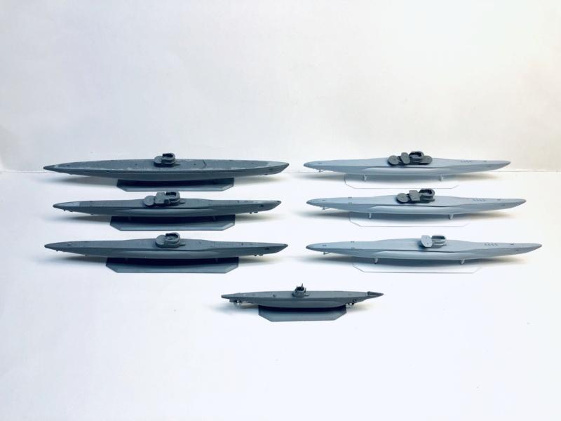 [HELLER - MIRAGE] Chantier naval / Flottille U-BOOT Réf 195, 81002, 81091 & 400203, 40411 Img_e907