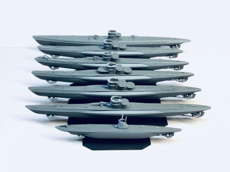 [HELLER - MIRAGE] Chantier naval / Flottille U-BOOT Réf 195, 81002, 81091 & 400203, 40411 Img_e909