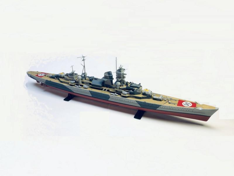 Croiseur lourd ADMIRAL HIPPER  boîte jaune Réf 1033 Img_e921