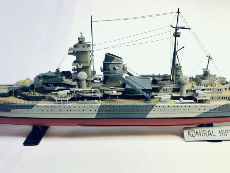 Croiseur lourd ADMIRAL HIPPER  boîte jaune Réf 1033 - Page 2 Img_e969