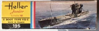 [HELLER - MIRAGE] Chantier naval / Flottille U-BOOT Réf 195, 81002, 81091 & 400203, 40411 Img_e989