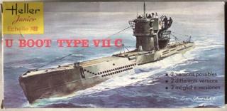 [HELLER - MIRAGE] Chantier naval / Flottille U-BOOT Réf 195, 81002, 81091 & 400203, 40411 Img_e990