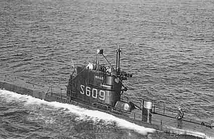 Sous-marin S 609 Millé  Mille210