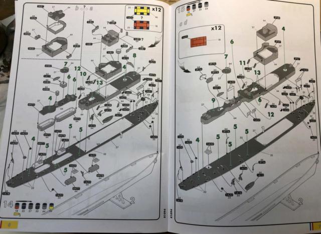 Escorteur Rapide E52 1/400ème réf 81094 Notice14