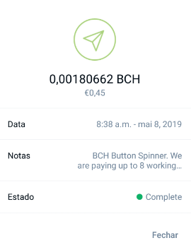Oportunidade [Provado] BCH Button (já ganhei 1,4M satoshis BCH - 5,50$) Botzeo10