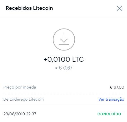 Oportunidade [Provado] Free-Litecoin - já ganhei 0,06 Litecoin Lite110
