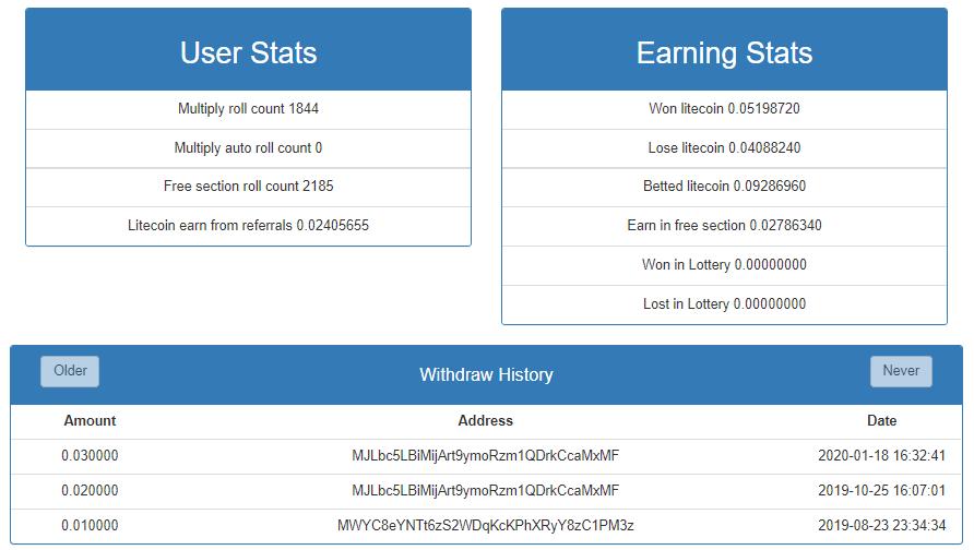 Oportunidade [Provado] Free-Litecoin - já ganhei 0,06 Litecoin Lite113