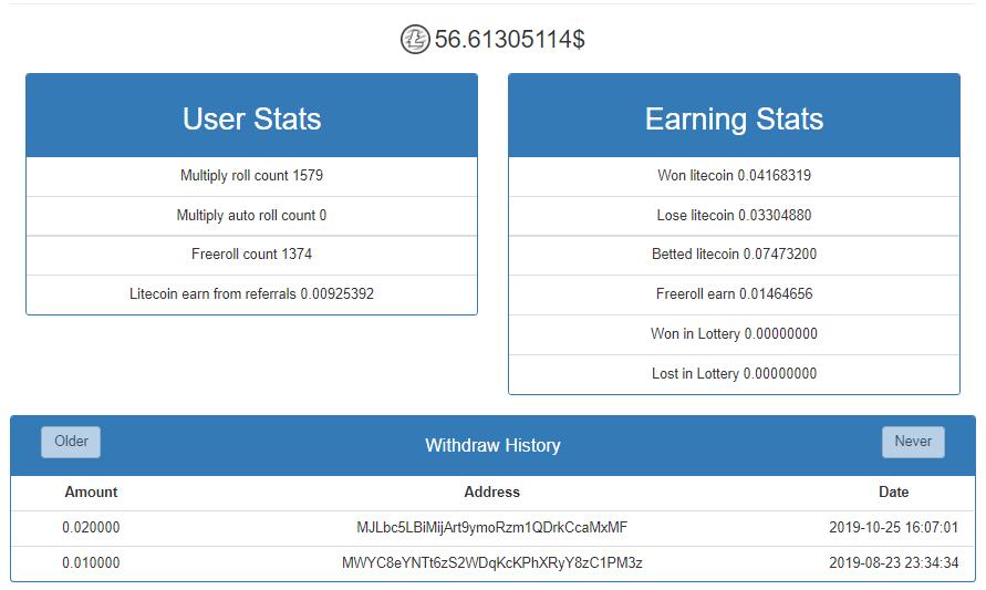 Oportunidade [Provado] Free-Litecoin - já ganhei 0,06 Litecoin Liteco15