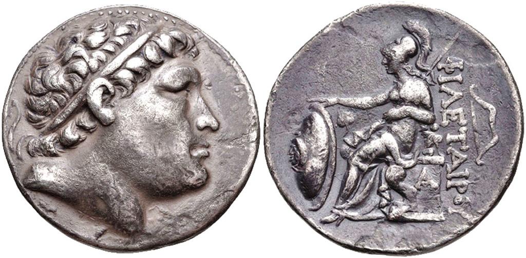 Tetradracma de Eumenes I o Filetero Eumene10