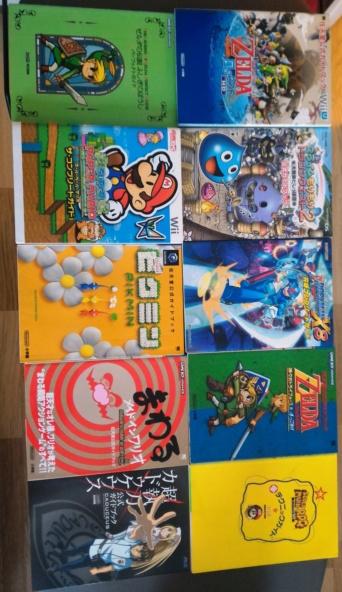VENDU Lot de 20 Guide Books Japonais divers (Nintendo) pour 70 euros ports compris (3.5e/ le guide) Lot_gu10