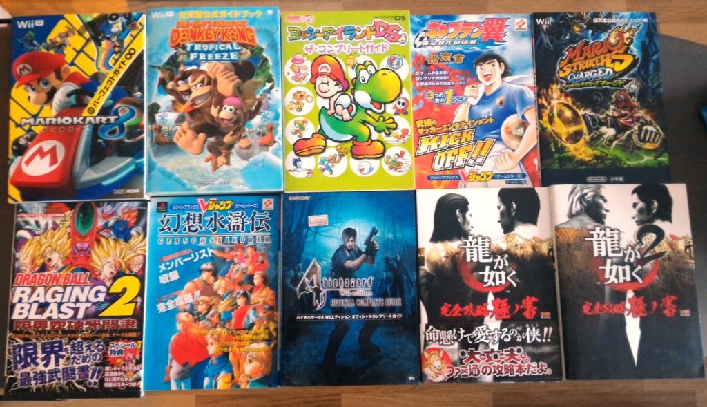 VENDU Lot de 20 Guide Books Japonais divers (Nintendo) pour 70 euros ports compris (3.5e/ le guide) Lot_gu11