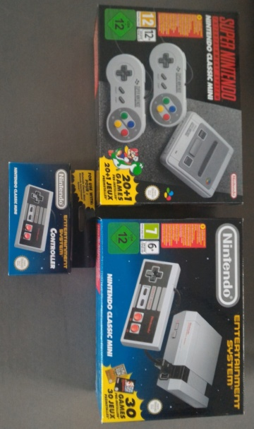 EN COURS DE FINALISATION lot Nintendo Classic Mini 100 euros Ports offerts Lot_mi10