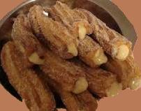 CHURROS CASEIROS - Sobremesa deliciosa... Churro10