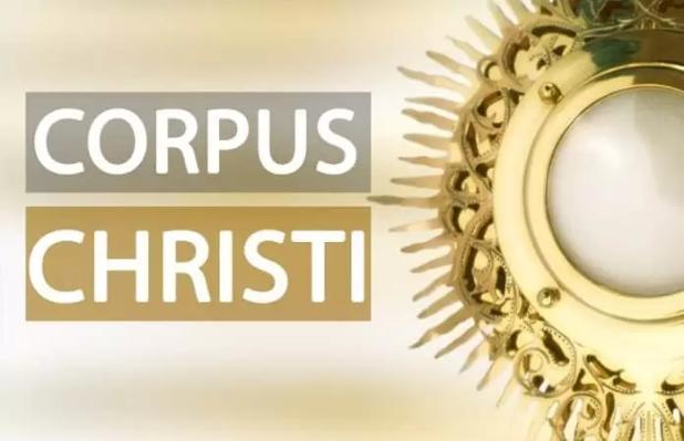 Corpus Christi é um feriado nacional no qual a igreja católica festeja o corpo de Cristo representado na Eucaristia. Corpus10