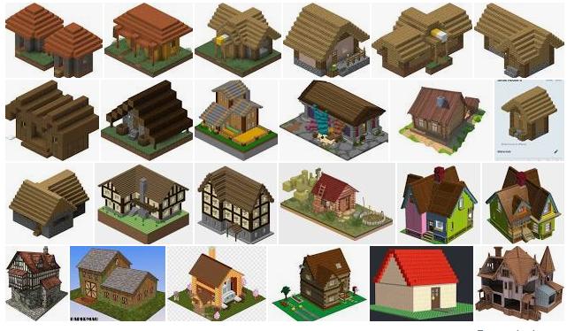 MineCraft - Vilas e Aldeões Edific11