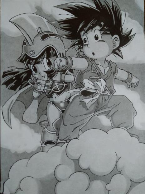 ÁREA DE DESIGN - ARTES GRÁFICAS Goku-t10