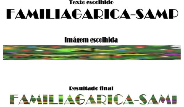 Tutorial - Foto dentro do texto - Adobe Fireworks CS6 Imagem10