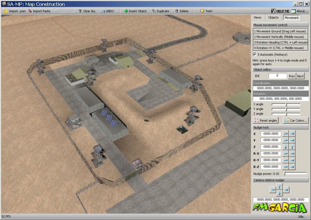 SAMP Map Construction (Map Editor) Maped10