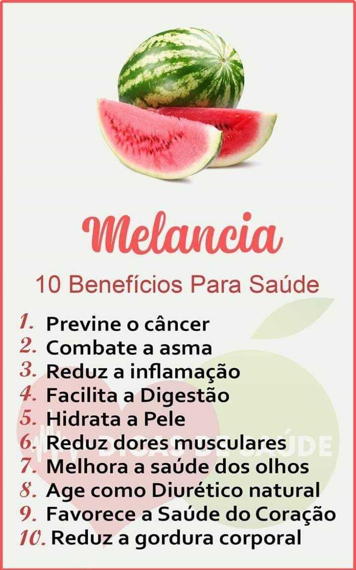 A melancia e seus benefícios para a saúde Melanc10