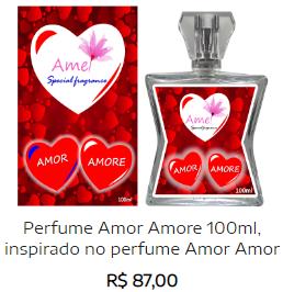 Perfumes masculinos e femininos Screen12