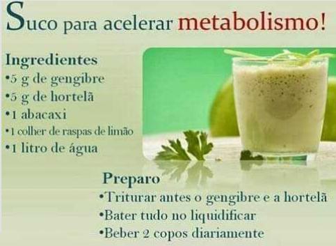 Suco para acelerar Metabolismo Screen53