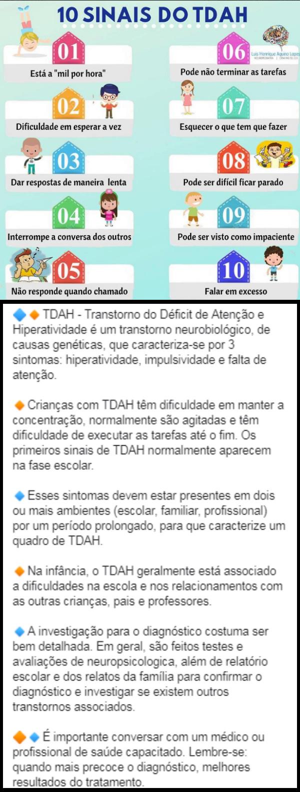 Tda/tdah - transtorno de deficit de atencao e hiperatividade Tdah10