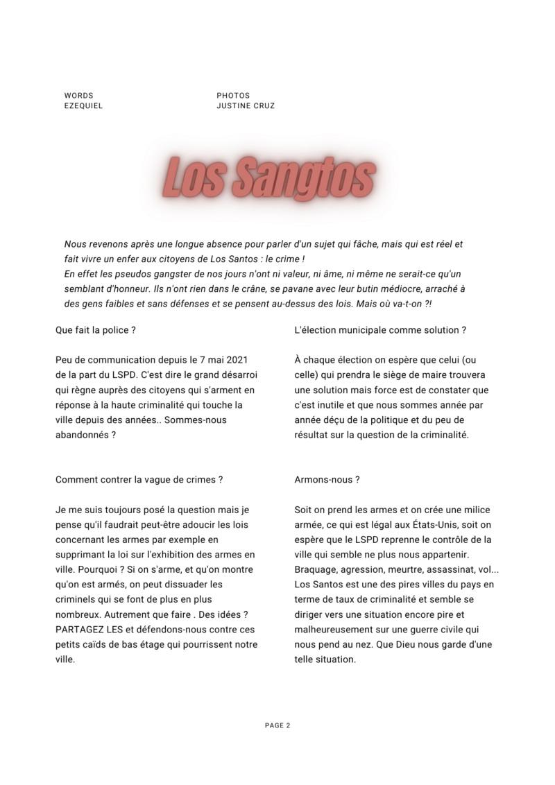 Los SanGtos - Enquête choc !  242