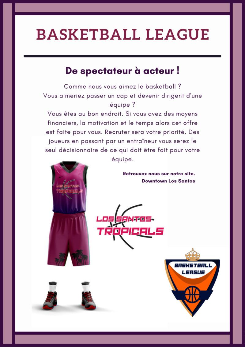 Basketball League - Les Los Santos Tropicals sont libre ! Lstrop11