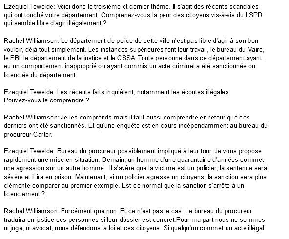 Dossier spécial LSPD - Interview écrite de la nouvelle chef du LSPD Screen56