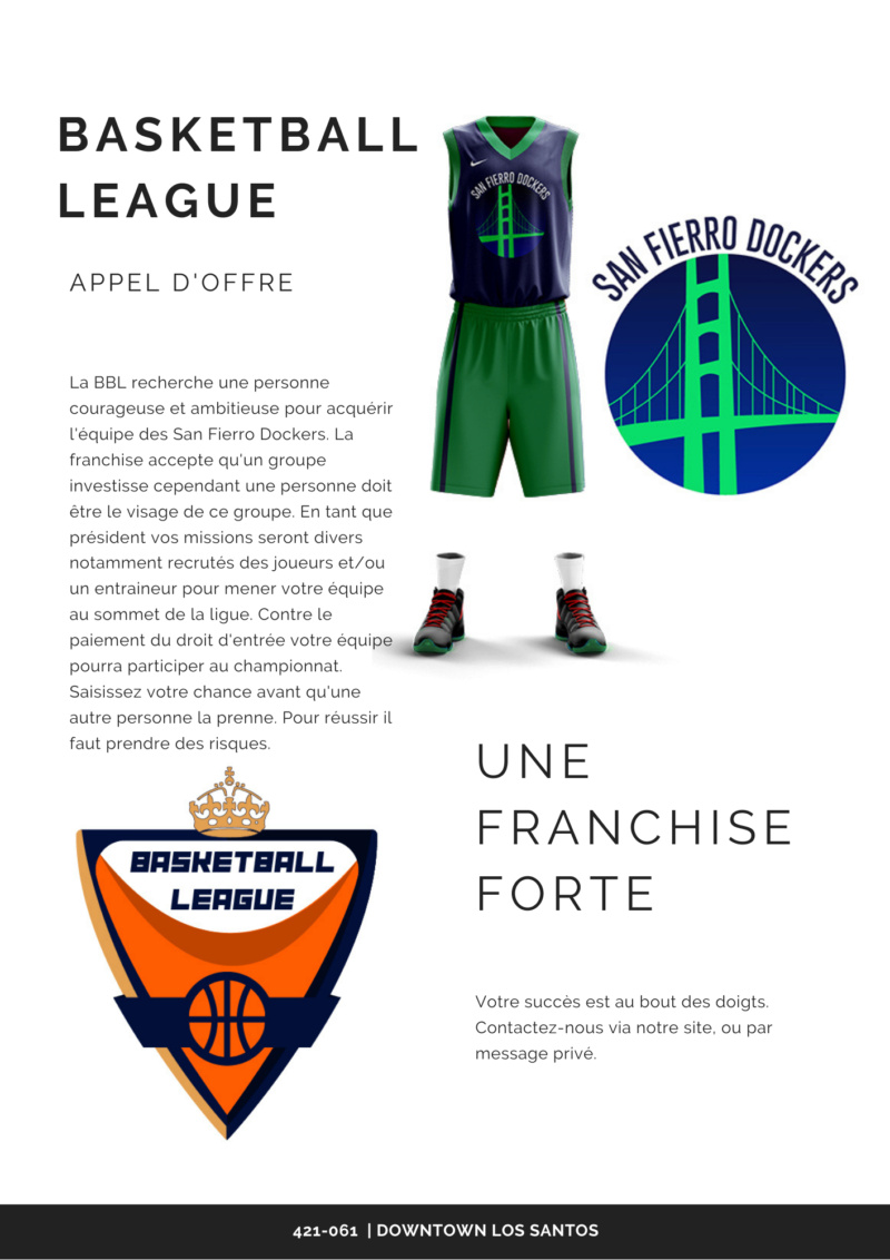 Basketball League - San Fierro Dockers à prendre ! The_pr11
