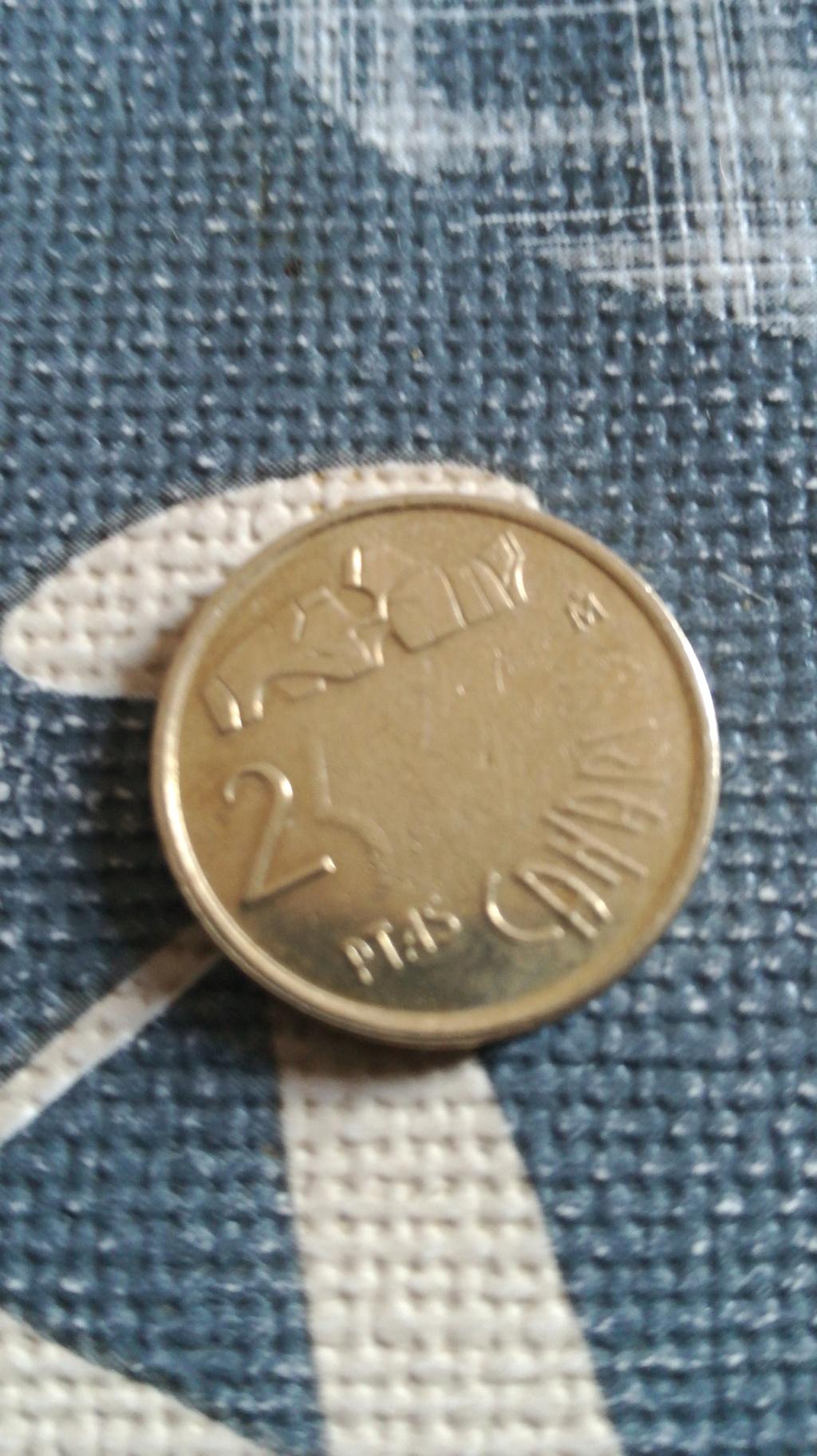 Moneda de 25 pesetas sin agujero 15363210