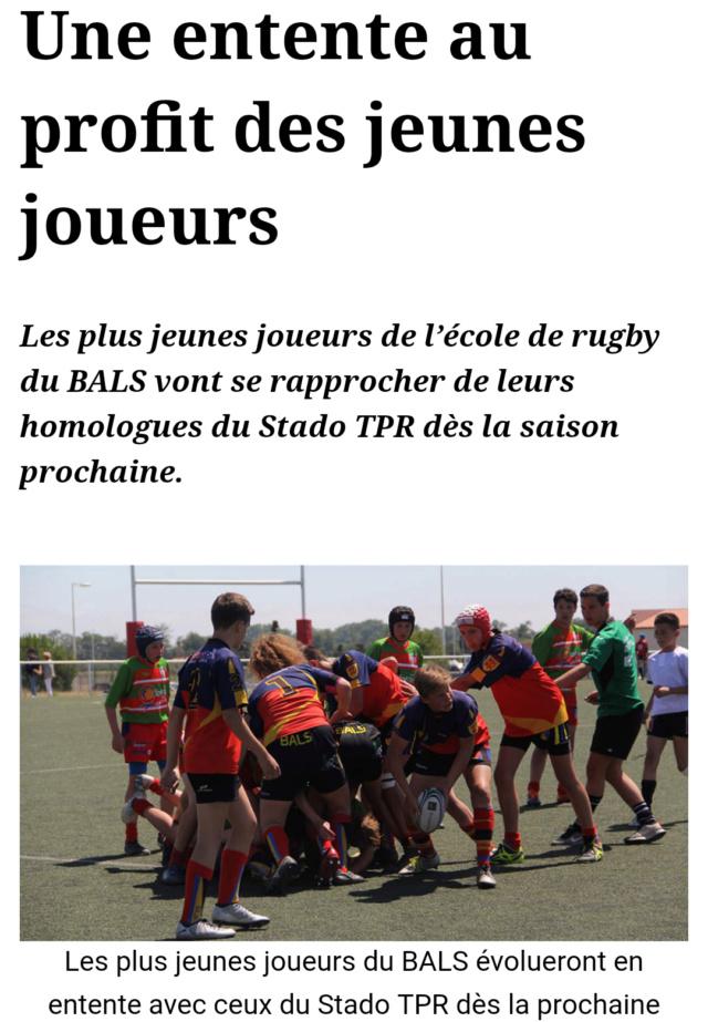 Ecole de rugby du STADO TPR - Page 3 20190724