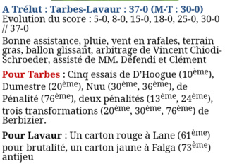Stado / AS Lavaur  - Page 3 20191126