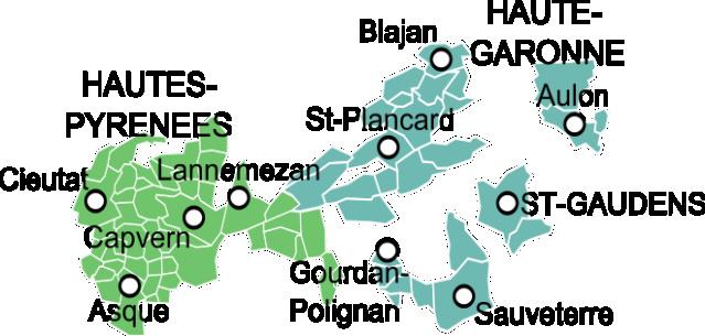 La châtellenie de Cassagnabère Carte_10