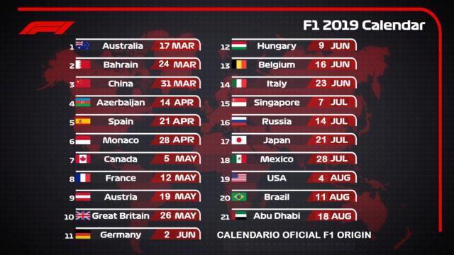 F1 ORIGIN  Premier League  Domingos // Sundays  20.00 Calend11
