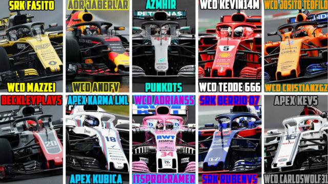 F1 ORIGIN  Premier League  Domingos // Sundays  20.00 Lista_15