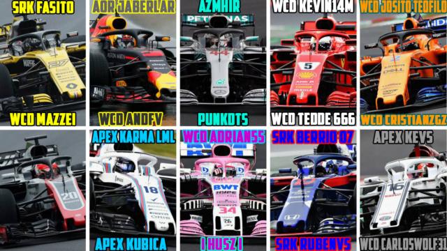 F1 ORIGIN  Premier League  Domingos // Sundays  20.00 Lista_17