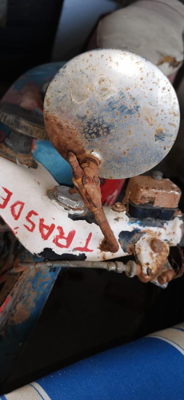 LOBITO - Restaurando la Lobito Mk2 que tuvo mi padre 13dc7810