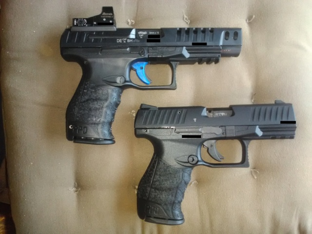 Walther PPQ M2 .22lr 411