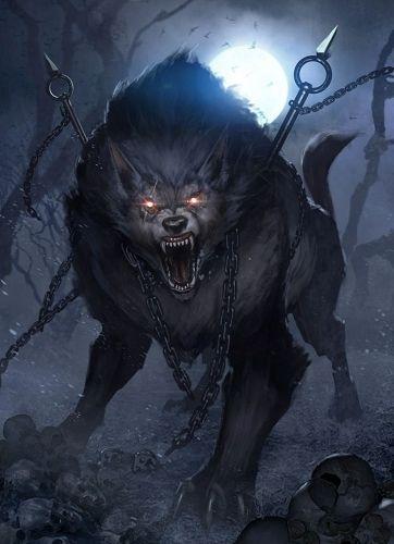 Lupus Dominus - Ragabash - Hominídio - Senhores das Sombras. E6b3da11