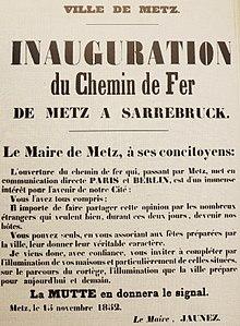 "1914-18 : la gare de Metz, terminus de ""la voie des canons"" Metz10"