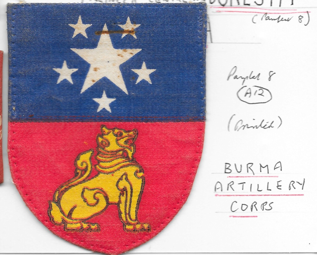 Burma Artillery Corps Burma_10