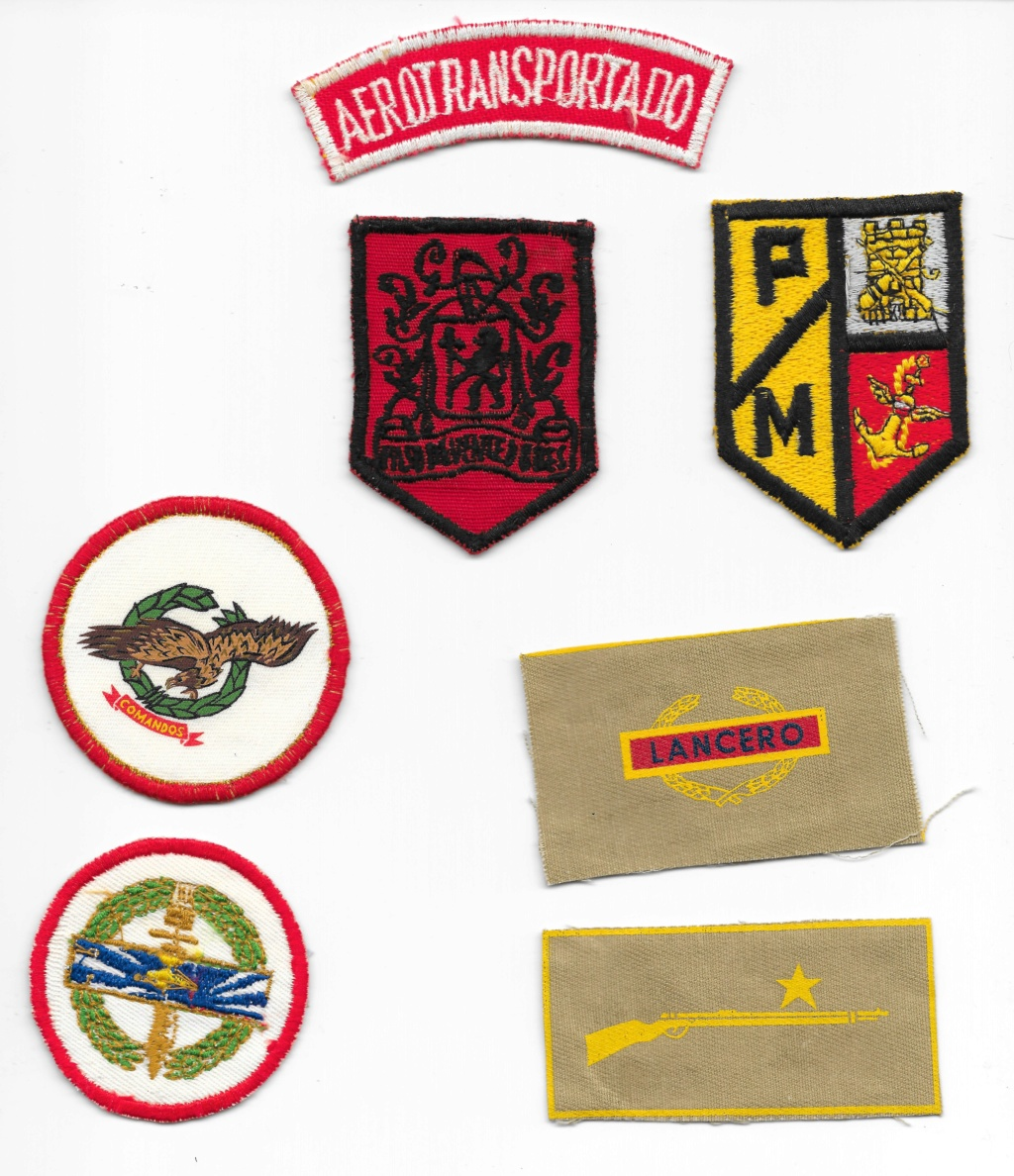Columbian military patches Columb11