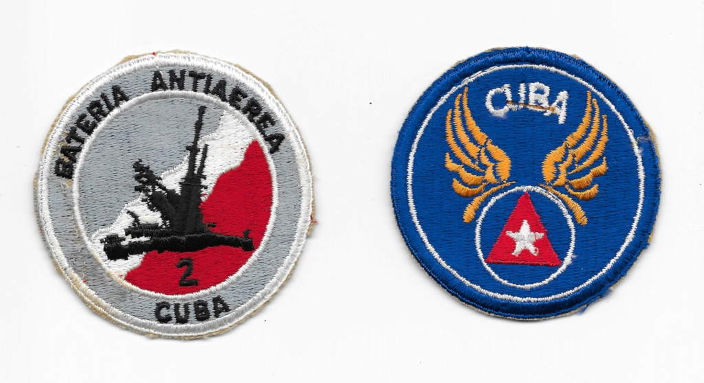 Cuban military patches Cuba10