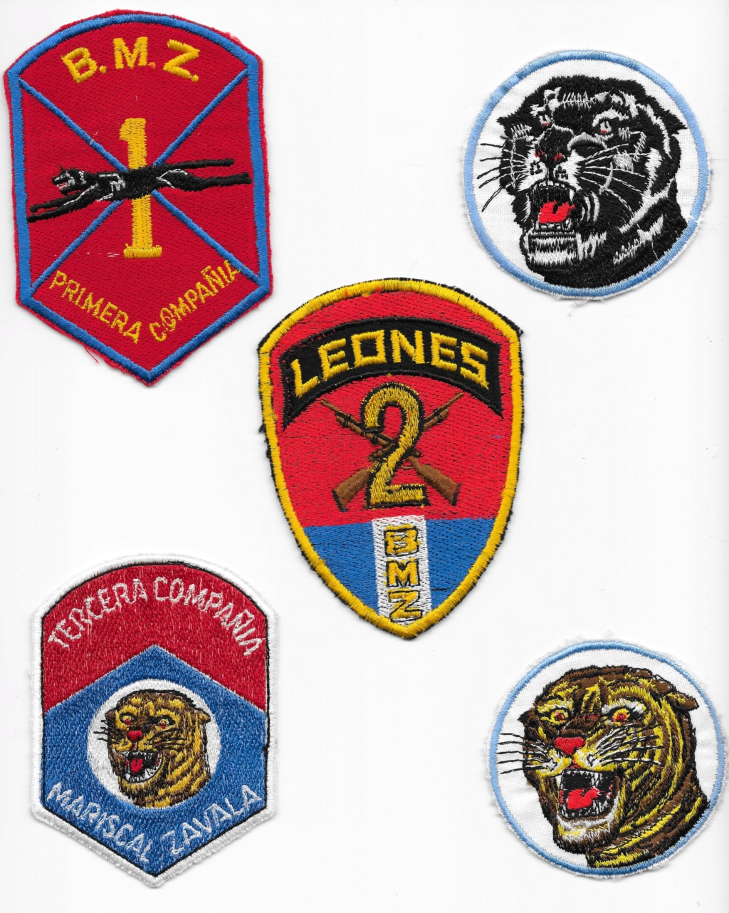Guatemalan Armed Forces patches (Part1) Guatem11